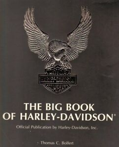 THE BIG BOOK OF HARLEY-DAVIDSON - First printing
