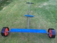 Galvanised Launching Trolley