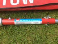Hilka 2 tonne towing pole with damper