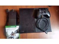 Xbox One 500gb with Assassins Creed Black Flag