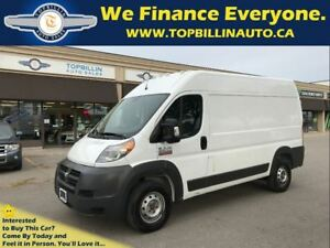 2014 Ram ProMaster 2500 High Roof with FULL SERVICE RECORDS