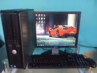 ** BARGAIN** Dell OptiPlex 740 - Win 7 Pro PC Computer, 2GB RAM, 80GB HDD, Office 2010, WIFI, CD/DVD