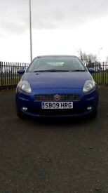 Fiat Grande Punto Gp; + 1 year MOT, Warranty, Excellent first car, Great MPG return.