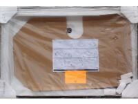 SHOWER TRAY NEW 122X78CMS WHITE CORAM 3 UPSTAND WITH FITTINGS, RRP £204 ONLY £90, CAN DELIVER