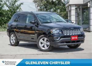 2016 Jeep Compass HIGH ALTITUDE | SUNROOF | LEATHER | BLUETOOTH