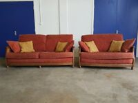 ERCOL BERGERE SET LOUNGE SUITE 3 SEATER SOFA & 2 SEATER SETTEE SET DELIVERY AVAILABLE