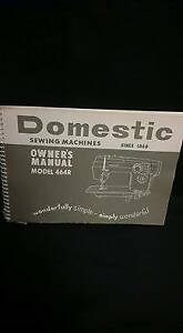 Domestic Sewing machines Owner's Manual Model 464R