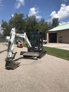 Bobcat E35 long arm