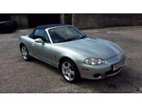 2003 Silver/Green Metallic MX5 For Sale