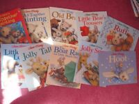 Jane Hissey Collection of 10 Old Bear Childrens Story Books