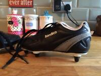 Boys size 13 football boots