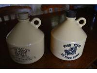 Vintage beer carry kegs