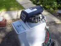 Logix 740 water softener. Electric. Salt tablet. DIY installation.