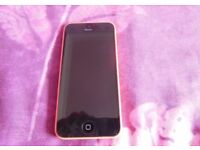 iPhone 5c pink o2