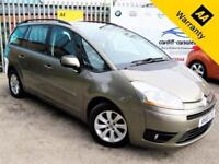 2010 10 CITROEN C4 PICASSO 1.6 GRAND VTR PLUS HDI EGS 5D AUTO 107 BHP! P/X WELCO