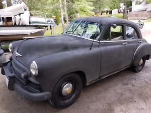 1950 Chevrolet Deluxe  4 door all original