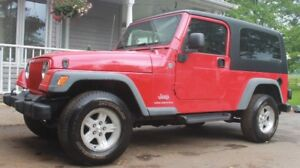 2005 Jeep LJ Unlimited Extended Version of Jeep TJ Convertible