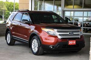 2014 Ford Explorer XLT - 4WD 7 Passenger V6 Local Trade-in