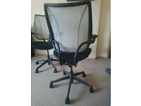2 x Office chairs - Human Scale