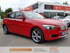 BMW 1 SERIES 116D URBAN 2014 Diesel Manual in Red