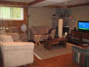 Apt All Included Semi Basement 3Mins Walk Metro Cotes Ds Neiges