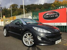 2011 11 Peugeot RCZ 1.6 THP GT 2 door Coupe Petrol 6 Speed Manual Leather Immaculate!!