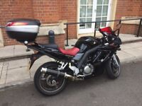 Rare Fully Fared SV650S K8 model Special Edition with over £1000 worth of extras and ultra low miles