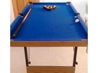 Children's 4ft Pool Table