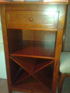 WINE CABINET SOLID WOOD