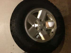17 in. dodge wheels with tire