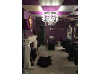 HAIR & BEAUTY BUSINESS / SALON FOR SALE £8000 OVNO