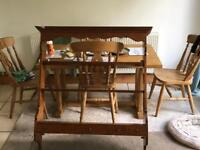 Wooden Kitchen Rack with 5 draws