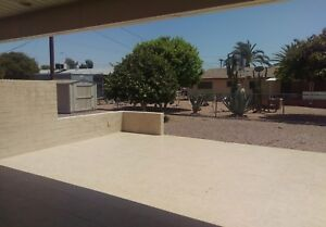For rent Mesa, Az.  (Cross roads are.....Recker & University)