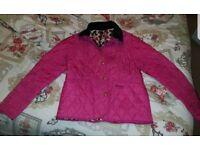Girls Barbour Jacket