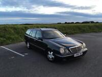 MERCEDES E320 ESTATE, ONE OWNER FROM NEW, 12 MONTHS MOT AND MERCEDES BENZ SERVICE HISTORY