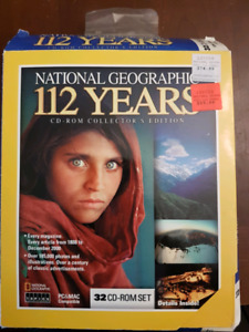 Nat Geo 112 years on cd-rom
