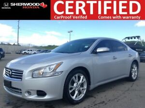 2013 Nissan Maxima SV | AUX/USB | HEATED LEATHER | AC | BLUETOOT