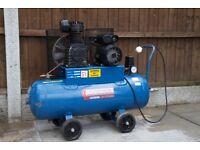 2HP 11Bar 50 Litre capacity Compressor (240 Volts).
