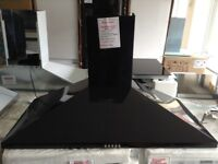 100cm black cooker hood. Small. Marked. 12 month Gtee