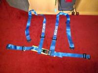 Sparco 4 point harness/seatbelt