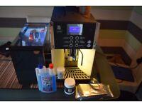WMF Bean to Cup Commercial Coffee Machine + Milk fridge
