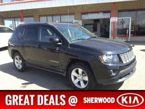 2015 Jeep Compass 4WD NORTH EDITION Accident Free,  Leather,  A/