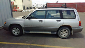 Subaru Forester for parts - Engine gone - everything else good