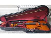 Hindersine 4/4 violin