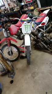 Honda xr 100 dirtbikes great parts bikes