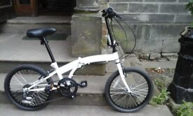 Fold up bike as new 2 available