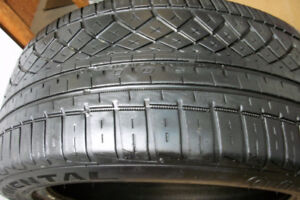 2 Tires Continental Extreme Contact OWS TUNEO  Size 275 45 20