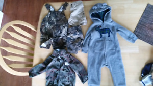 Boys camo 12 month lot!   5 pieces!!!!