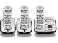 BT Studio 4500 Cordless Answer Phone and 2 Additional Handsets