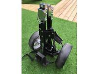 2 wheel pull golf trolley